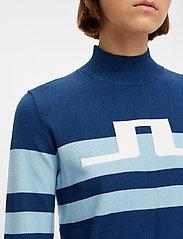 J. Lindeberg Golf - Rosa Golf Sweater - turtlenecks - midnight blue - 5