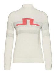 Rosa Golf Sweater - WHITE