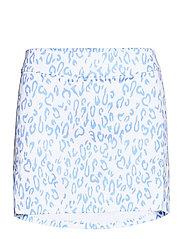 Amelie Golf Skirt Print - ANIMAL BLUE WHITE