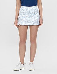 J. Lindeberg Golf - Amelie Golf Skirt Print - sports skirts - animal blue white - 0