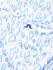 J. Lindeberg Golf - Amelie Golf Skirt Print - sports skirts - animal blue white - 3
