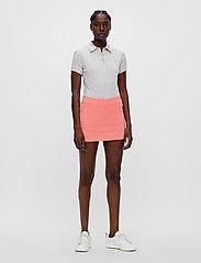 J. Lindeberg Golf - Amelie Golf Skirt - sports skirts - tropical coral - 6
