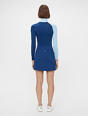 J. Lindeberg Golf - Amelie Mid Golf Skirt - sports skirts - midnight blue - 3