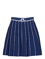 Bay Knitted Golf Skirt - MIDNIGHT BLUE