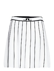Bay Knitted Golf Skirt - WHITE