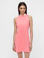 J. Lindeberg Golf - Nena Golf Dress - sports dresses - tropical coral - 0