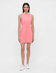 J. Lindeberg Golf - Nena Golf Dress - sports dresses - tropical coral - 6