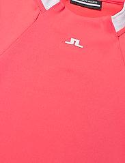 J. Lindeberg Golf - Nena Golf Dress - sports dresses - tropical coral - 8