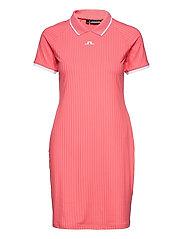 April Golf Dress - TROPICAL CORAL