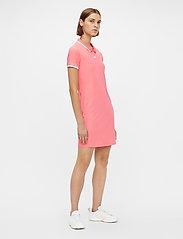 J. Lindeberg Golf - April Golf Dress - t-shirt dresses - tropical coral - 6