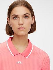 J. Lindeberg Golf - April Golf Dress - t-shirt dresses - tropical coral - 7