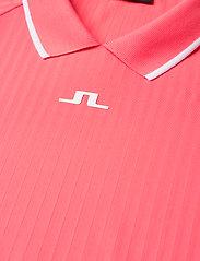 J. Lindeberg Golf - April Golf Dress - t-shirt dresses - tropical coral - 8