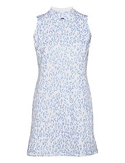 Nena Print Golf Dress - ANIMAL BLUE WHITE