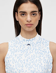 J. Lindeberg Golf - Nena Print Golf Dress - everyday dresses - animal blue white - 7
