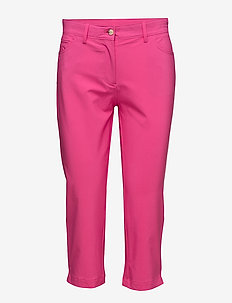 W Jeana Micro Stretch - spodnie do golfa - pink intense