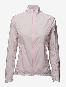 W Sally Jacket Stretch WindPro - golfjakker - soft pink