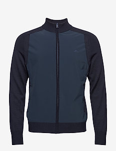 M Knitted Hybrid Jacket - JL NAVY