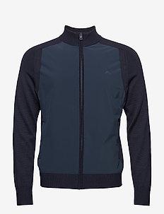 M Knitted Hybrid Jacket - JL NAVY