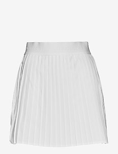 W Chloe Skirt Light Poly - WHITE