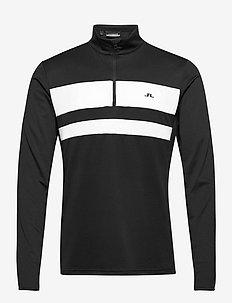 Bran Golf Mid Layer - mid layer-jakker - black