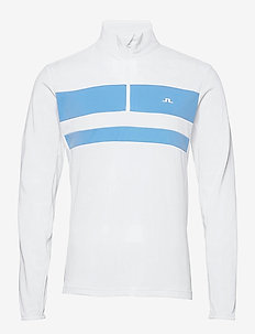 Bran Golf Mid Layer - fleece - white