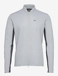 Alex Golf Mid Layer - fleece - stone grey melange