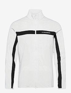 Jarvis Mid Layer - langarmshirts - white