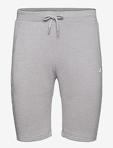 Stretch Fleece Light Shorts - golf-shorts - stone grey melange