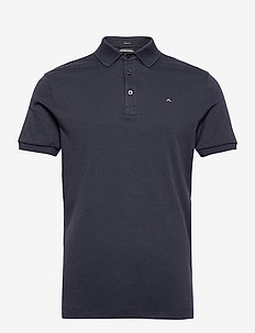 Stan Regular Fit Golf Polo - kurzärmelig - navy melange
