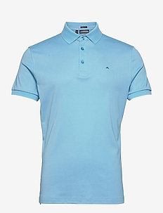 Stan Regular Fit Golf Polo - kurzärmelig - ocean blue melange