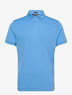 Tour Tech Slim Fit Golf Polo - paidat - ocean blue