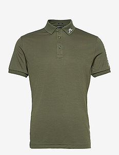 Tour Tech Slim Fit Golf Polo - kurzärmelig - thyme green melange