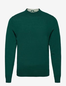 Lawrence Golf Sweater - rundhalsad - treeline green