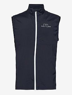 Ash Light Packable Golf Vest - golf-jacken - jl navy