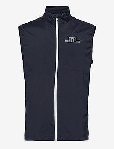 Ash Light Packable Golf Vest - urheilutakit - jl navy