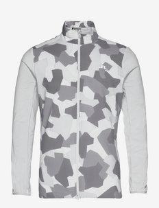 Packlight Print Golf Jacket - golf jassen - grey camo