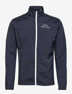 Ash Light Packable Golf Jacket - kurtki golfowe - jl navy
