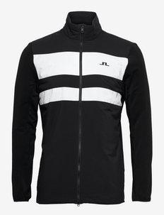 Packlight Hybrid Golf Jacket - golfjackor - black