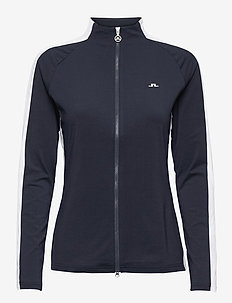 Marie Golf Mid Layer - golf jackets - jl navy