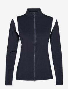 Daria Golf Mid Layer - fleece - jl navy