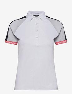 Perinne Golf Polo - polos - white
