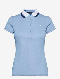 Alve Golf Polo - poloshirts - summer blue melange