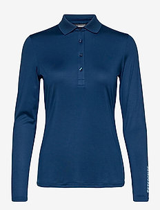 Tour Tech LS Golf Polo - poloshirts - midnight blue