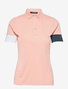 Yasmin Golf Polo - polo's - pale pink