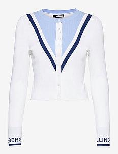 Jeanne Golf Cardigan - gebreid - white