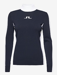 Adia Golf Sweater - neulepuserot - jl navy
