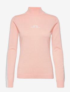 Adia Golf Sweater - rollkragenpullover - pale pink
