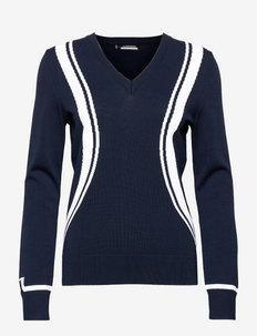 Bianca Golf Sweater - pullover - jl navy