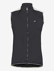Celest Golf Vest - puffer vests - jl navy