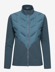 Shield Hybrid Golf Jacket - kurtki golfowe - captains blue